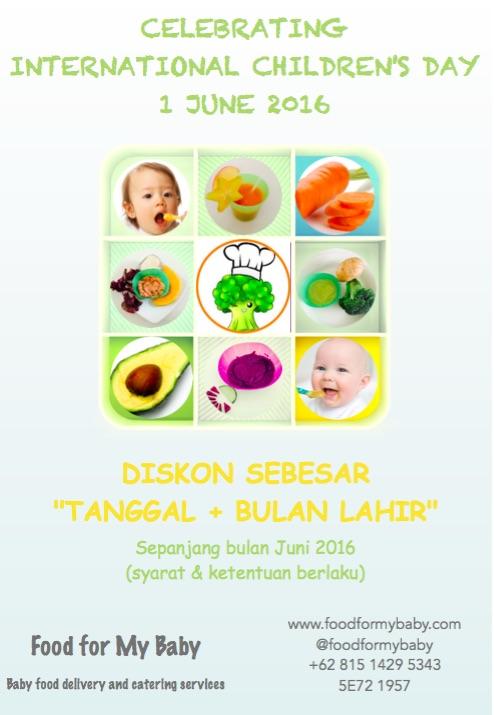 Promo children's day June 2016